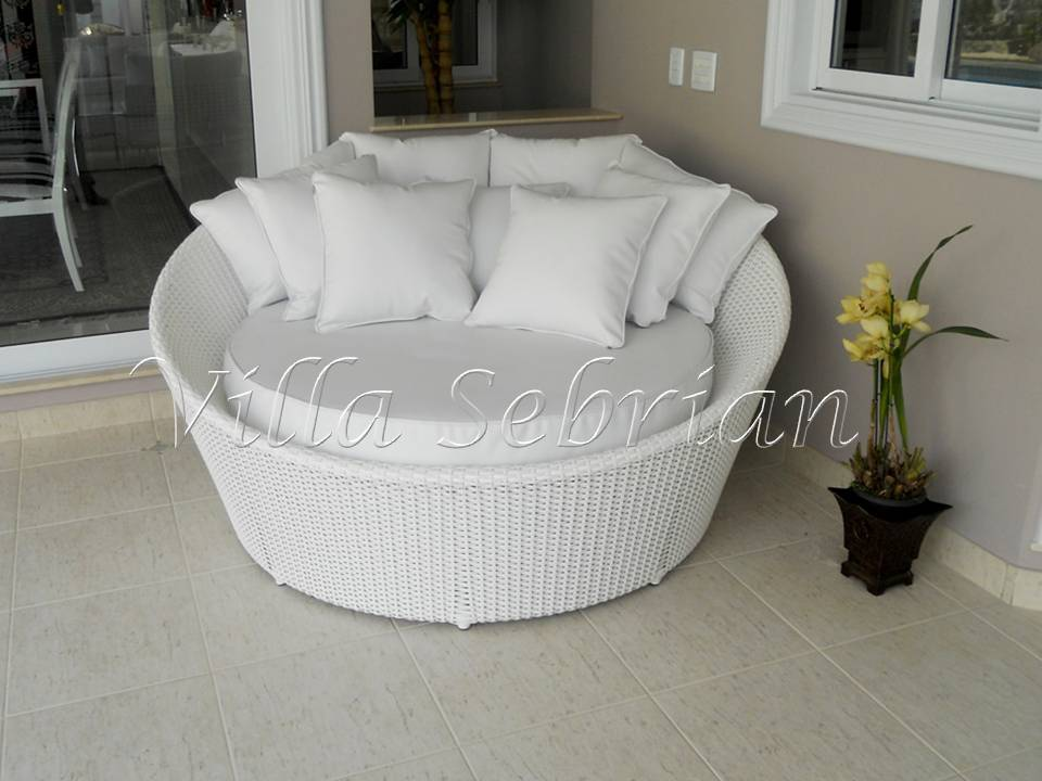 Chaise Long Orbit - tecimento fechado
