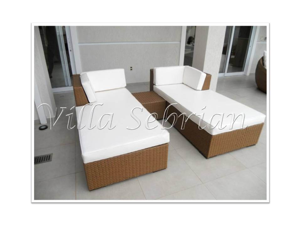 Chaise Long Dupla - Barra